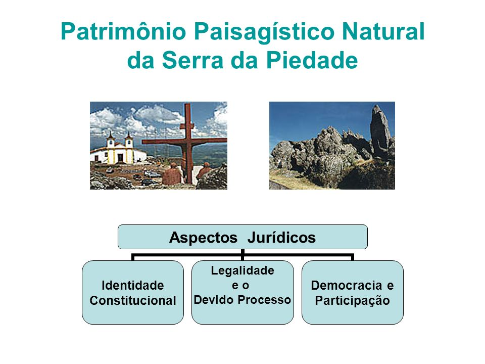 Patrimônio Paisagístico Natural da Serra da Piedade