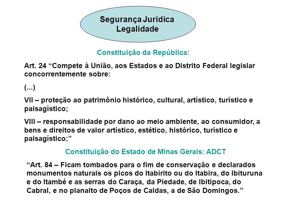 Segurança Jurídica Legalidade