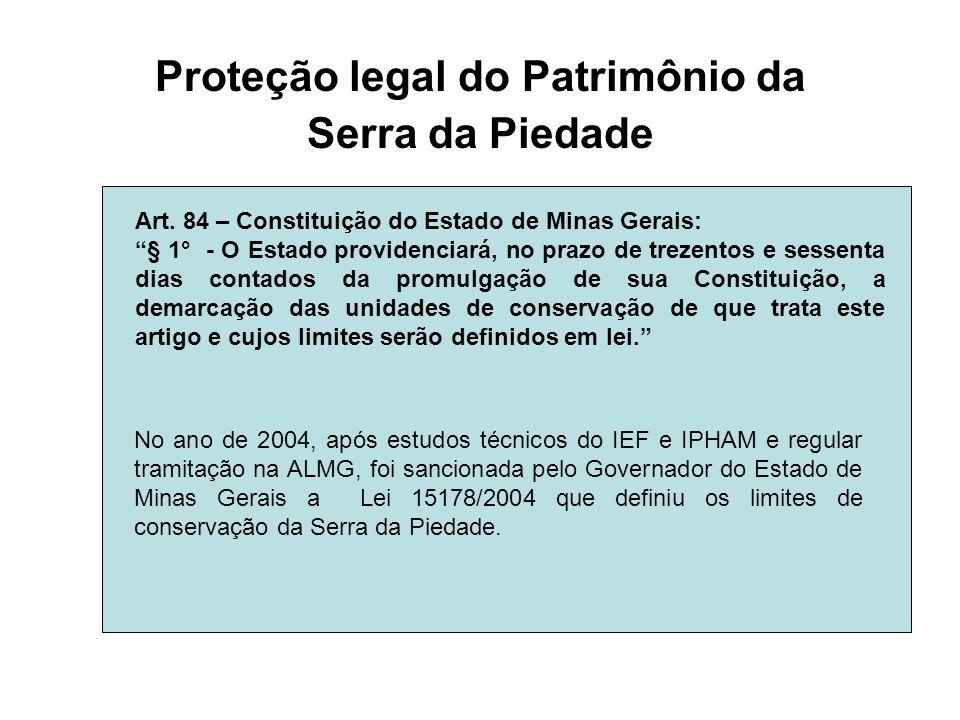 Proteção legal do Patrimônio da