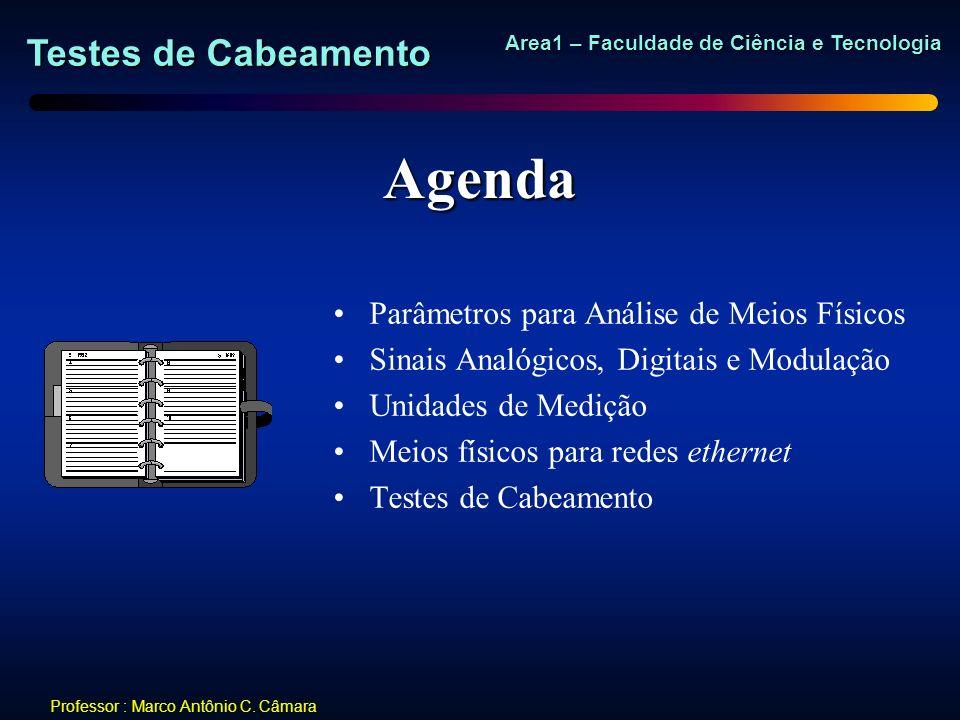 Agenda Parâmetros para Análise de Meios Físicos