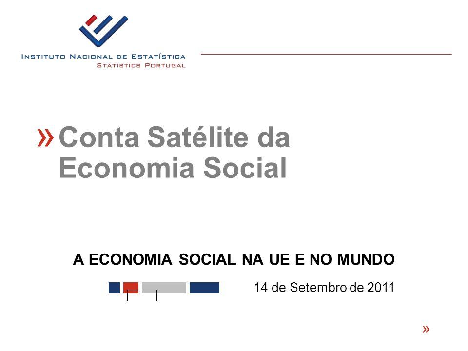 A ECONOMIA SOCIAL NA UE E NO MUNDO