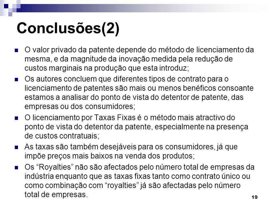 Conclusões(2)