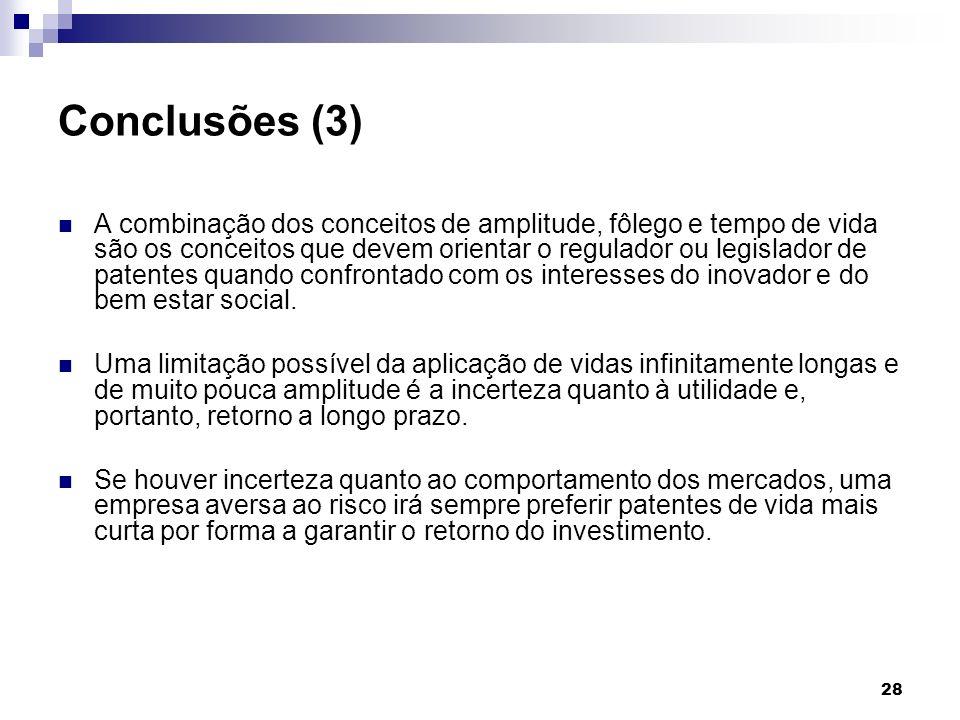 Conclusões (3)