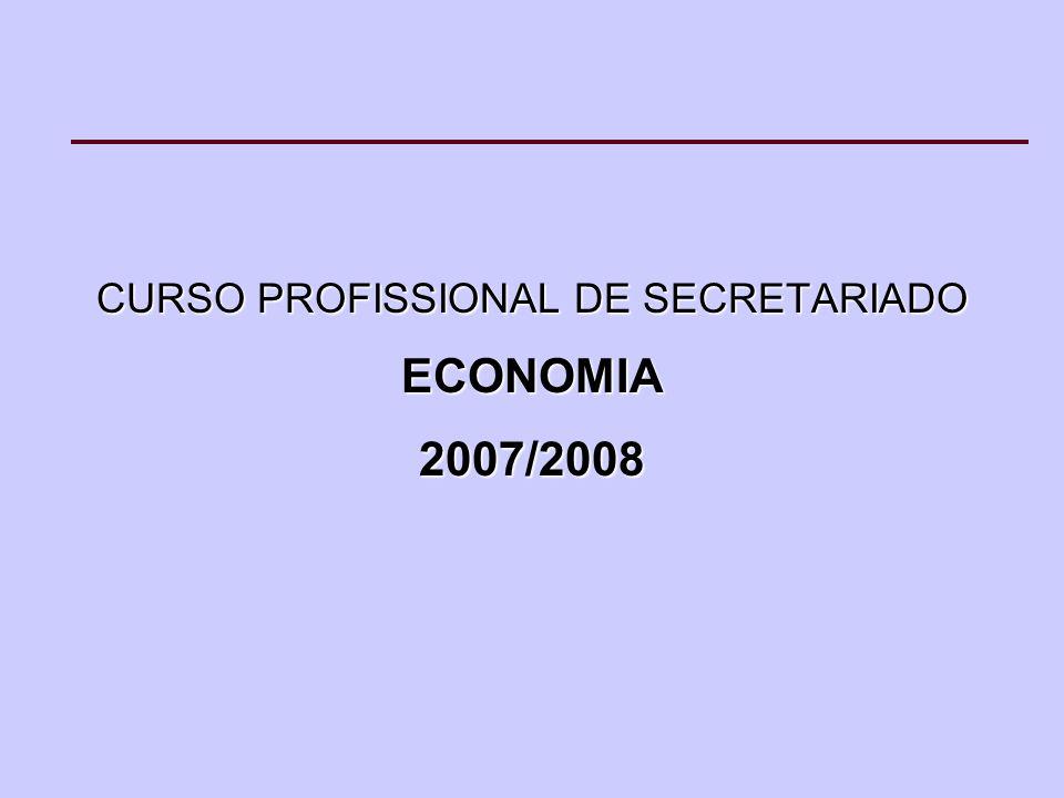 CURSO PROFISSIONAL DE SECRETARIADO