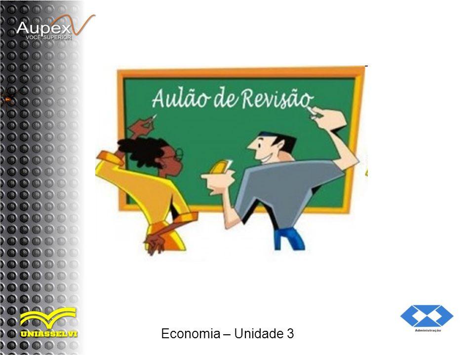 Economia – Unidade 3