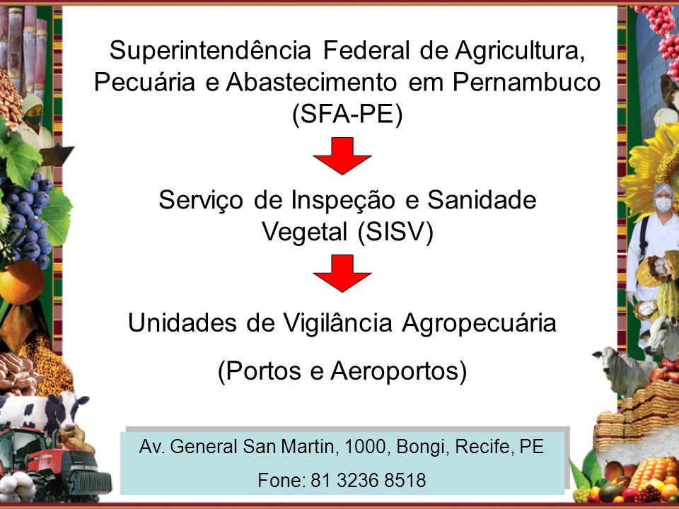 Serviço de Inspeção e Sanidade Vegetal (SISV)