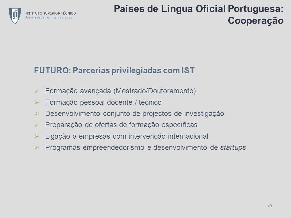 Países de Língua Oficial Portuguesa: Cooperação