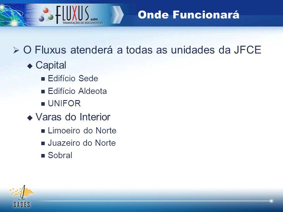 O Fluxus atenderá a todas as unidades da JFCE