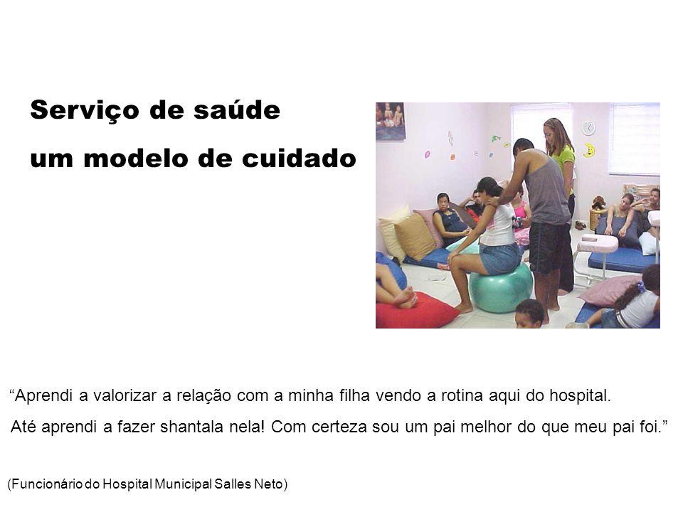 Serviço de saúde um modelo de cuidado