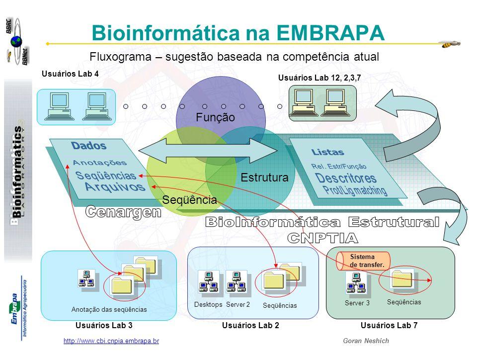 Bioinformática na EMBRAPA