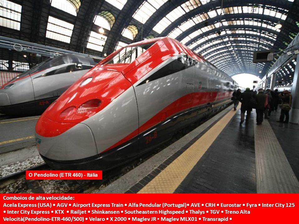 Comboios de alta velocidade: