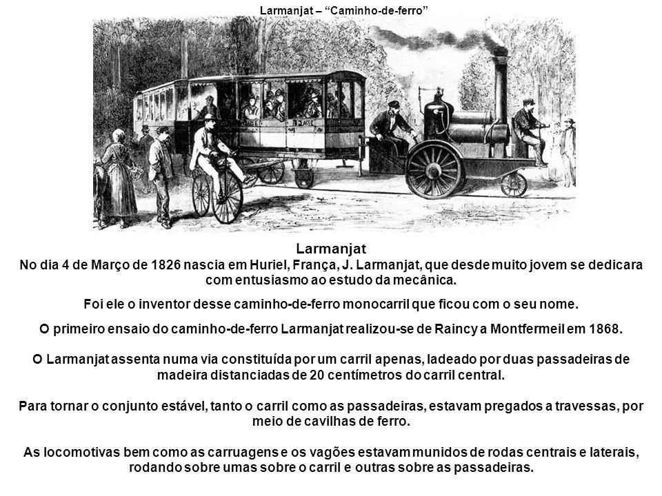 Larmanjat – Caminho-de-ferro