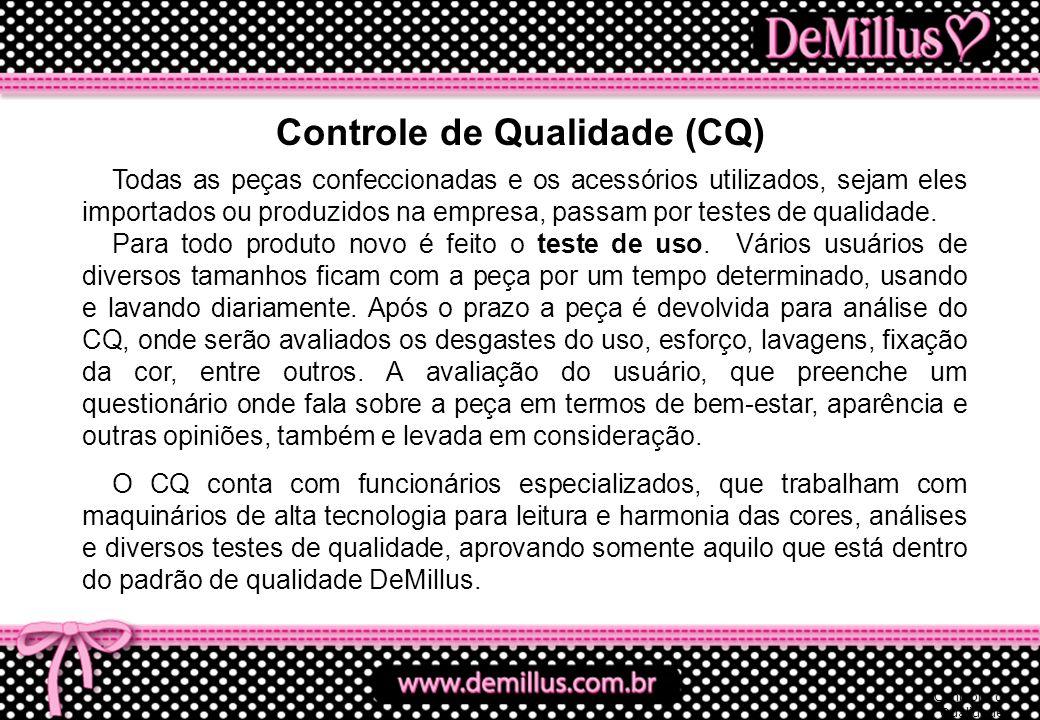 Controle de Qualidade (CQ)