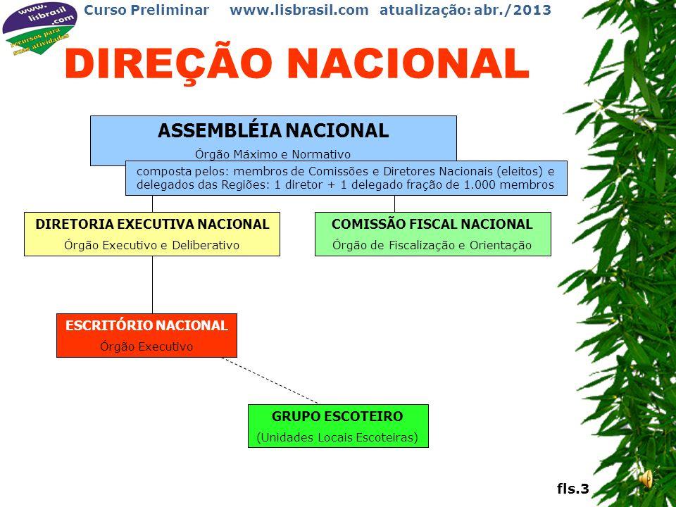 DIRETORIA EXECUTIVA NACIONAL COMISSÃO FISCAL NACIONAL