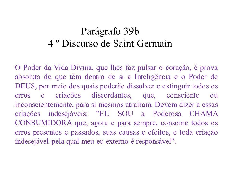 4 º Discurso de Saint Germain