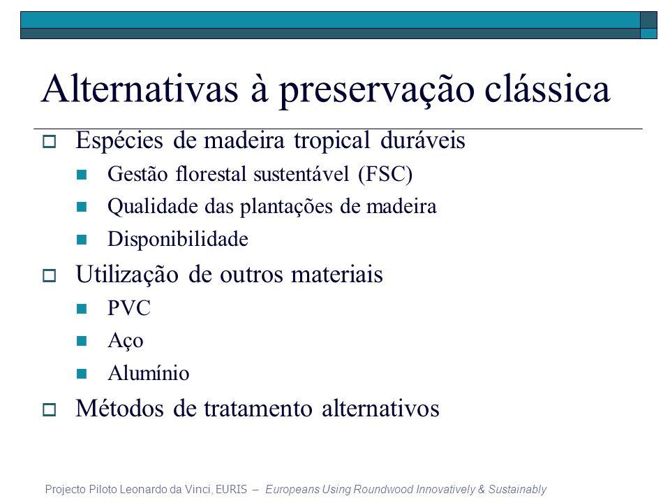 Alternativas à preservação clássica