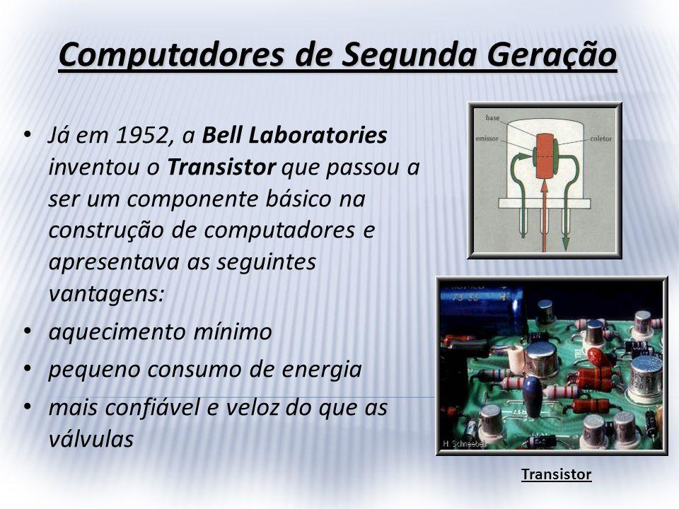 Computadores de Segunda Geração