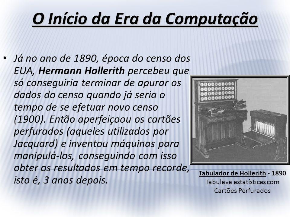 O Início da Era da Computação