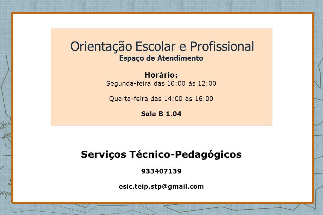Serviços Técnico-Pedagógicos