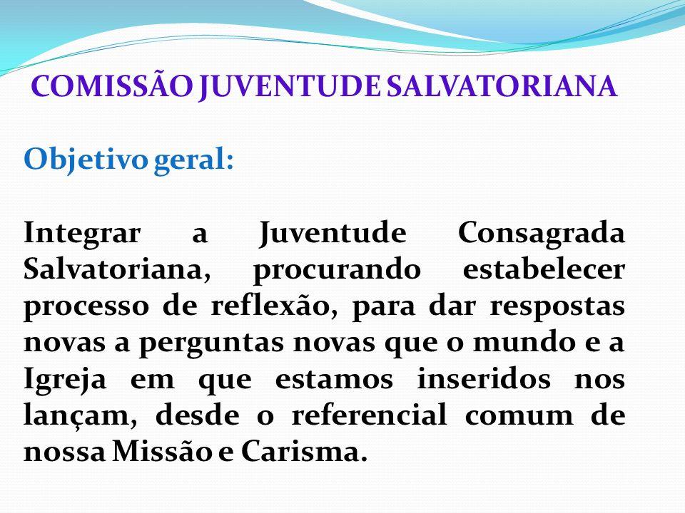 COMISSÃO JUVENTUDE SALVATORIANA