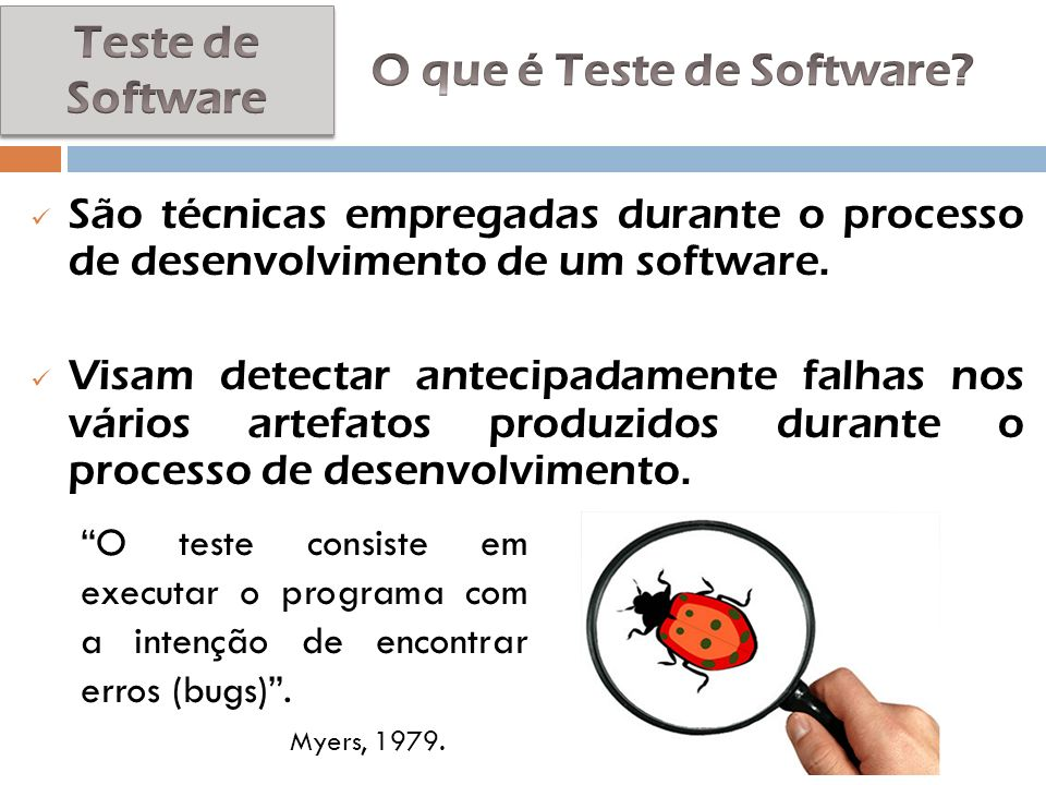 O que é Teste de Software