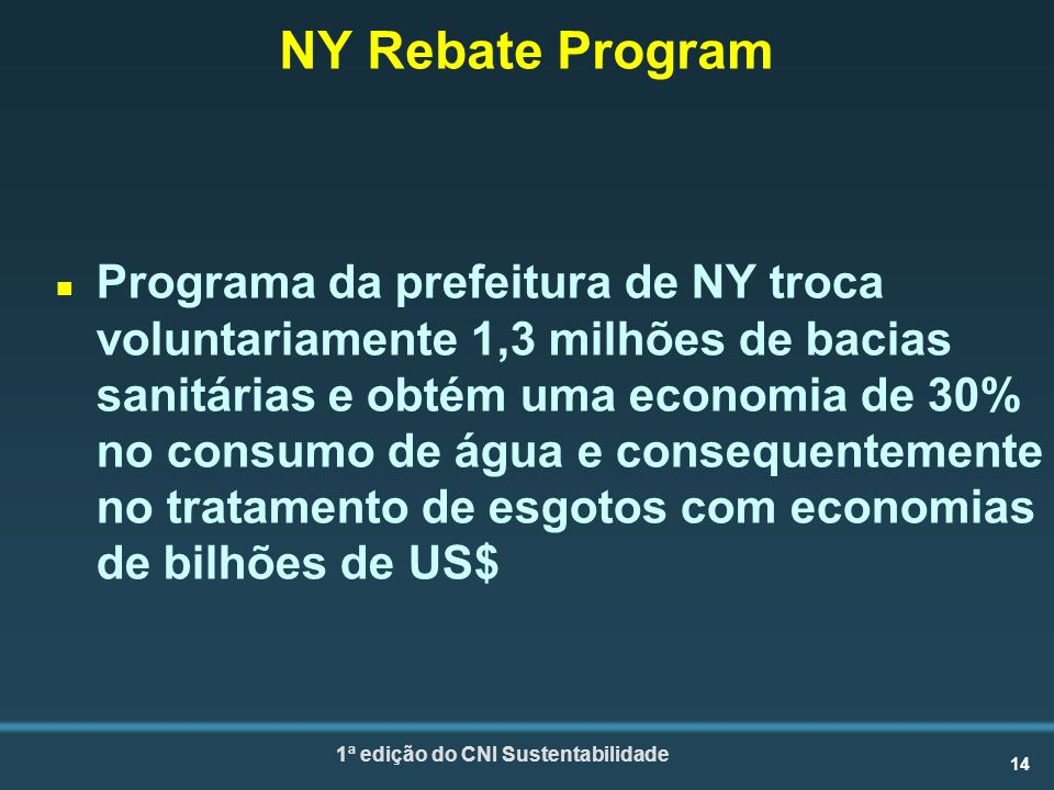 NY Rebate Program