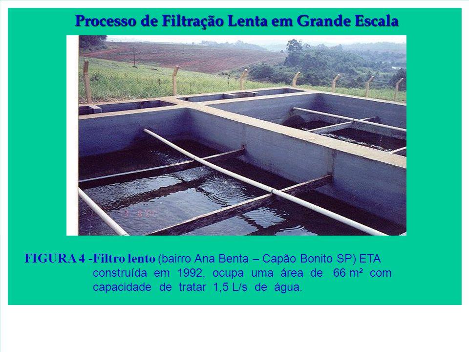 Processo de Filtração Lenta em Grande Escala
