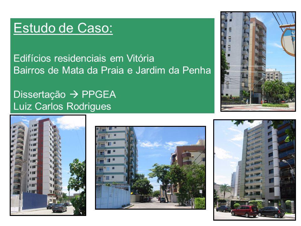 Estudo de Caso: Edifícios residenciais em Vitória