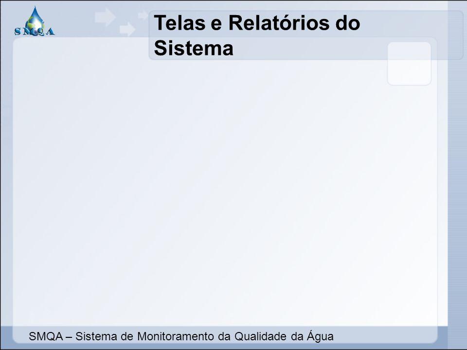 Telas e Relatórios do Sistema