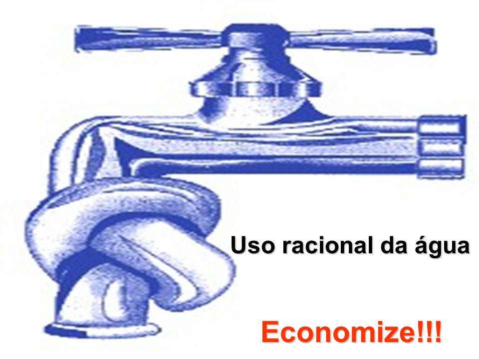 Uso racional da água Economize!!!