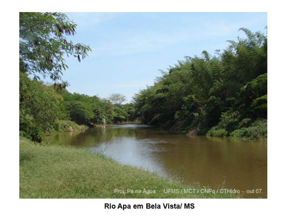 Rio Apa em Bela Vista/ MS