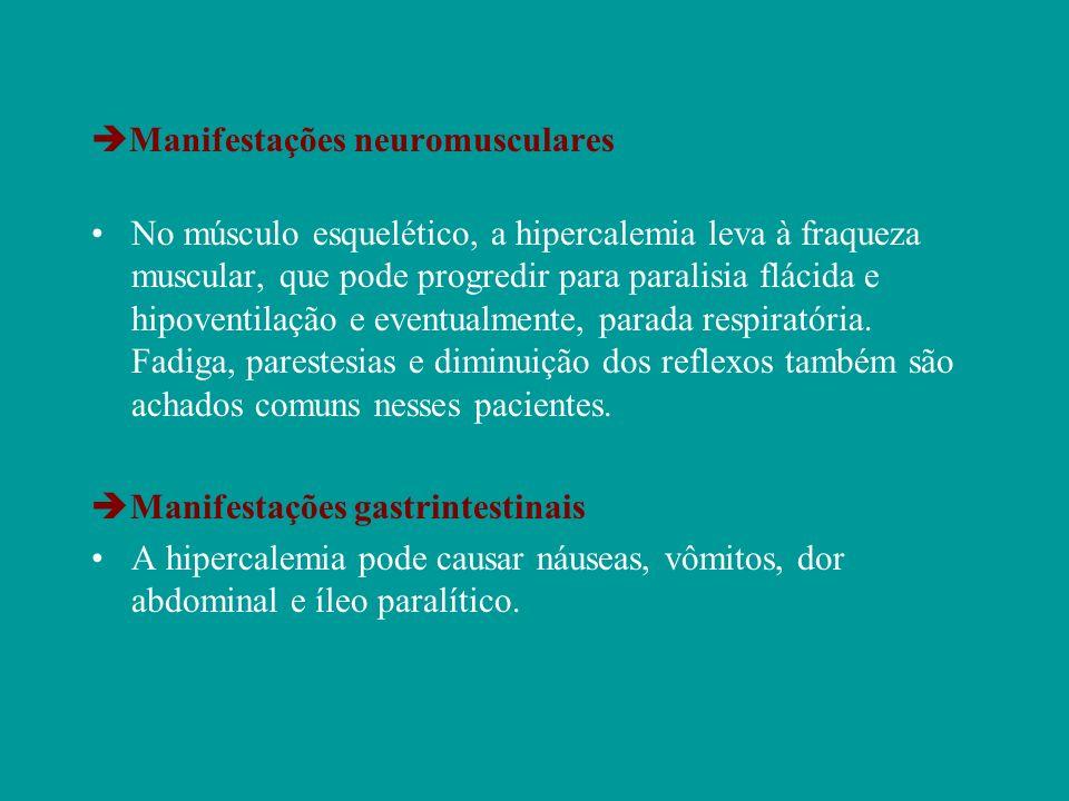 Manifestações neuromusculares