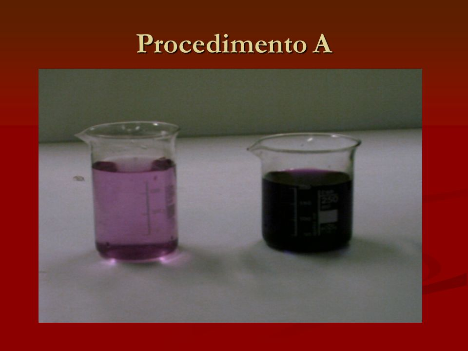 Procedimento A
