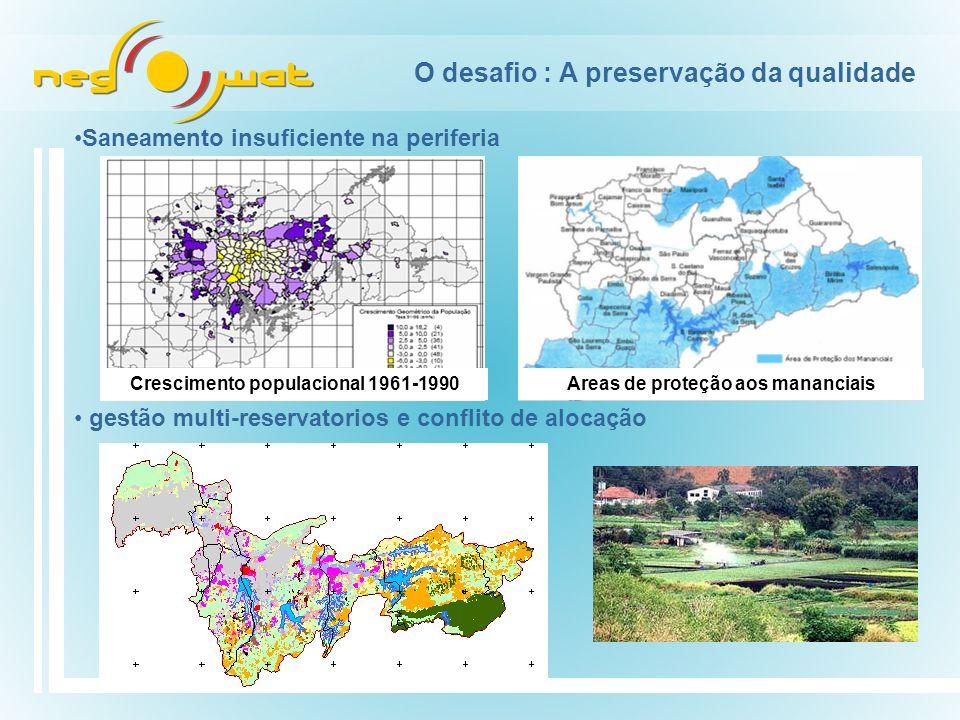 O desafio : A preservação da qualidade