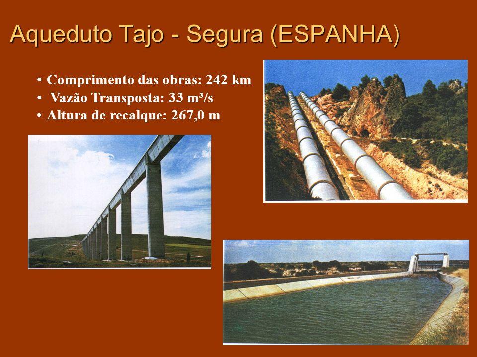 Aqueduto Tajo - Segura (ESPANHA)
