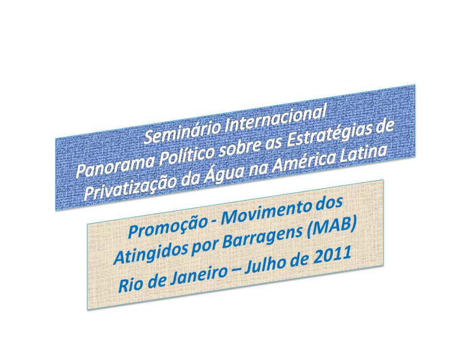 Promoção - Movimento dos Atingidos por Barragens (MAB)
