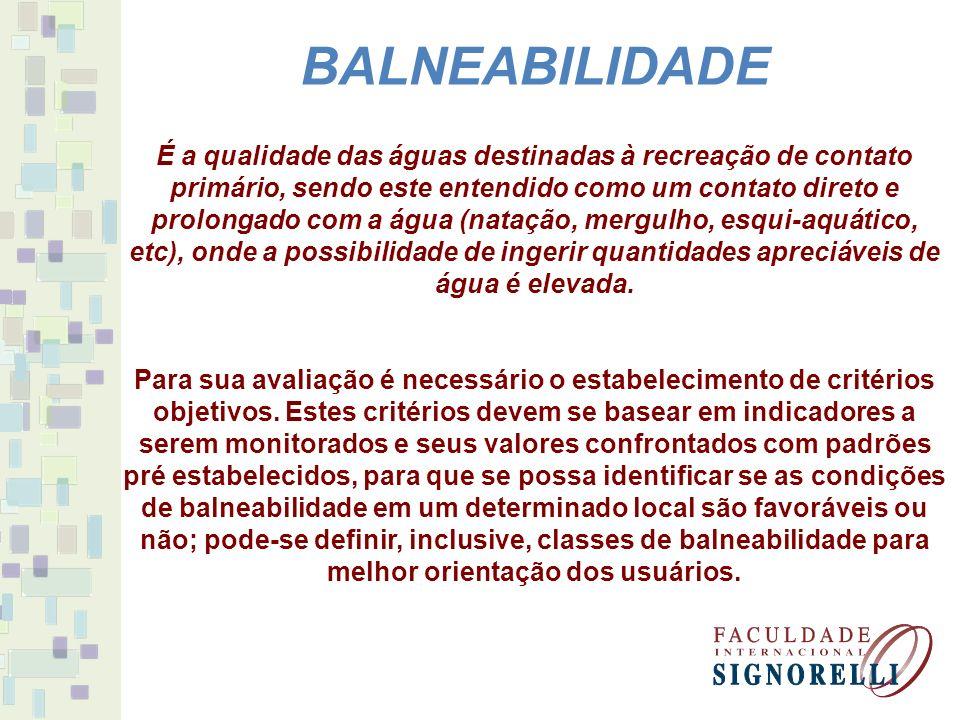 BALNEABILIDADE