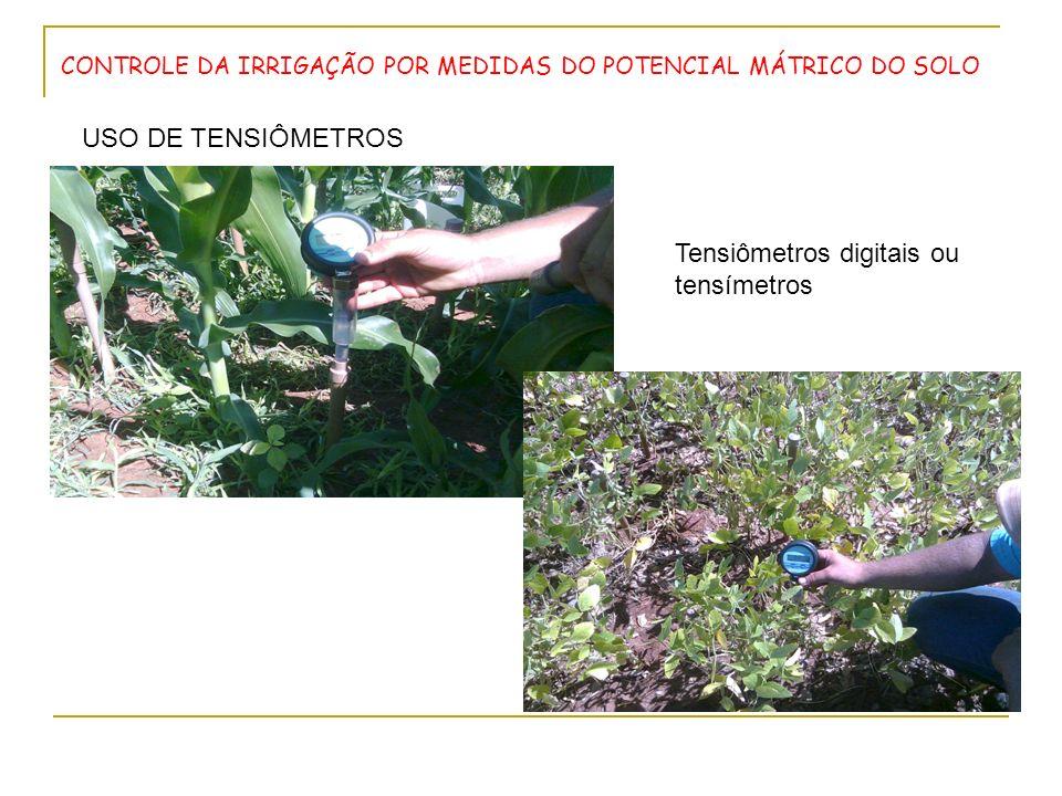 Tensiômetros digitais ou tensímetros