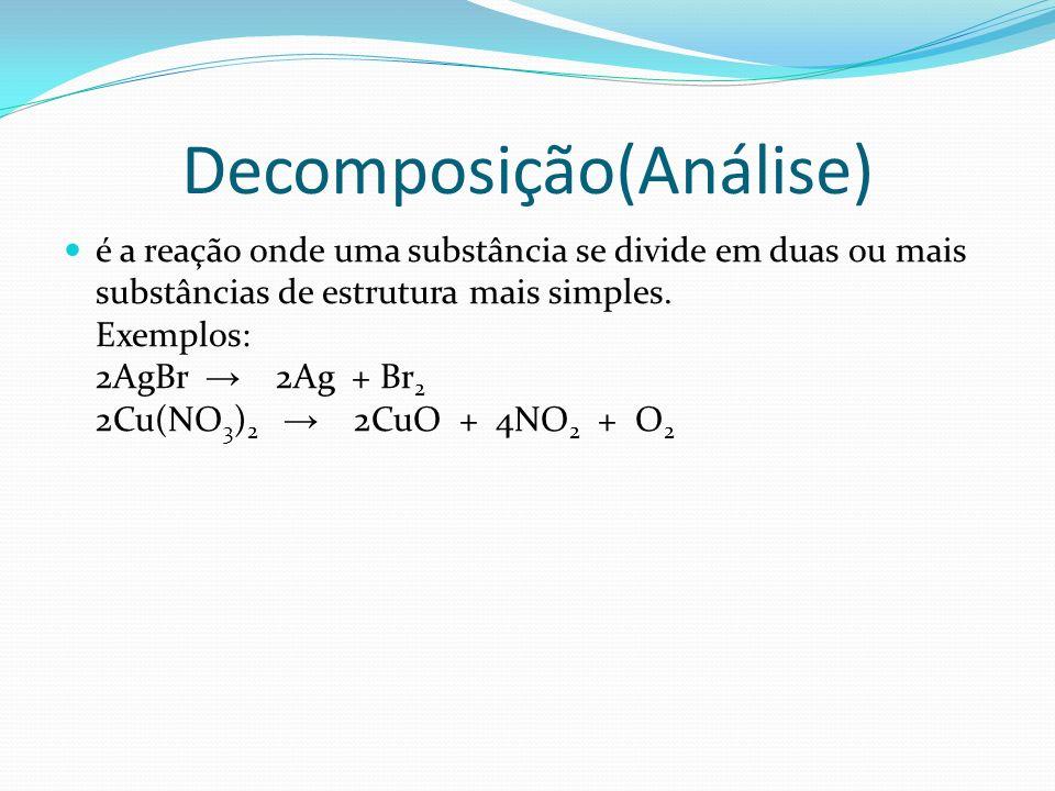 Decomposição(Análise)