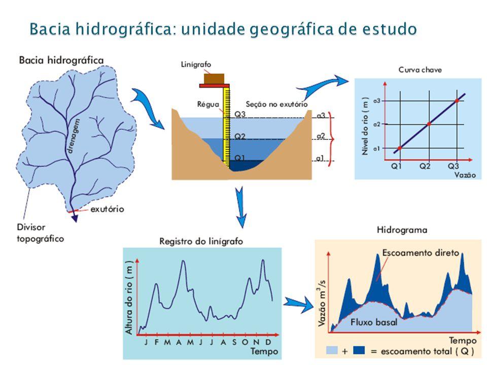 Bacia hidrográfica: unidade geográfica de estudo