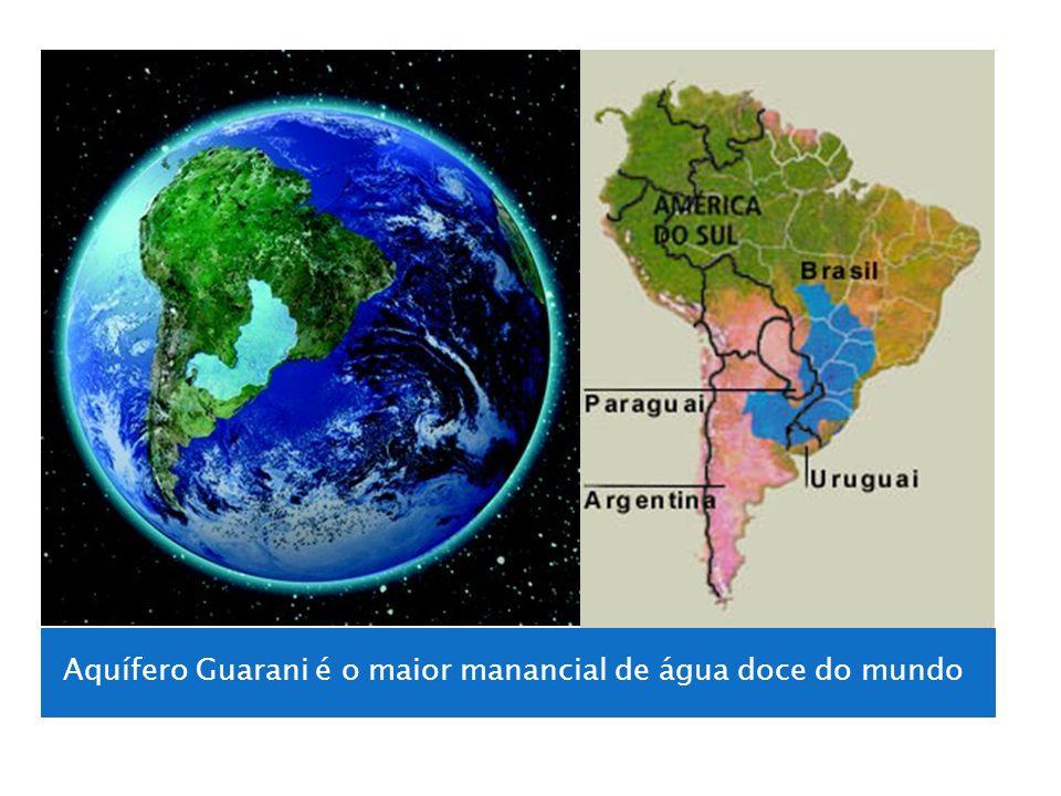 Aquífero Guarani é o maior manancial de água doce do mundo