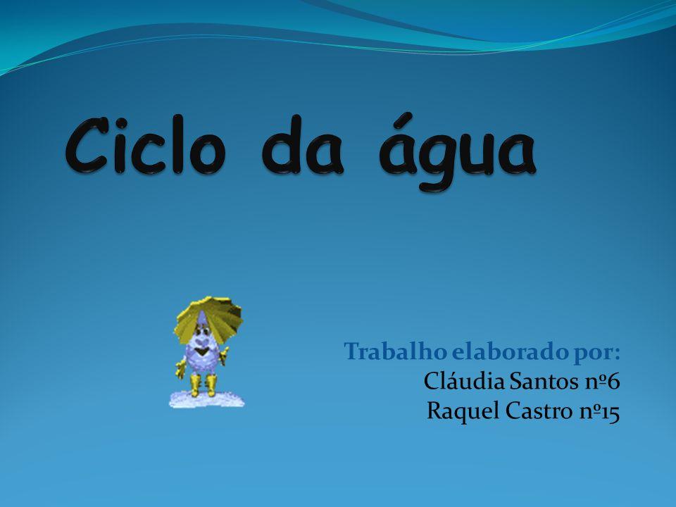 Trabalho elaborado por: Cláudia Santos nº6 Raquel Castro nº15