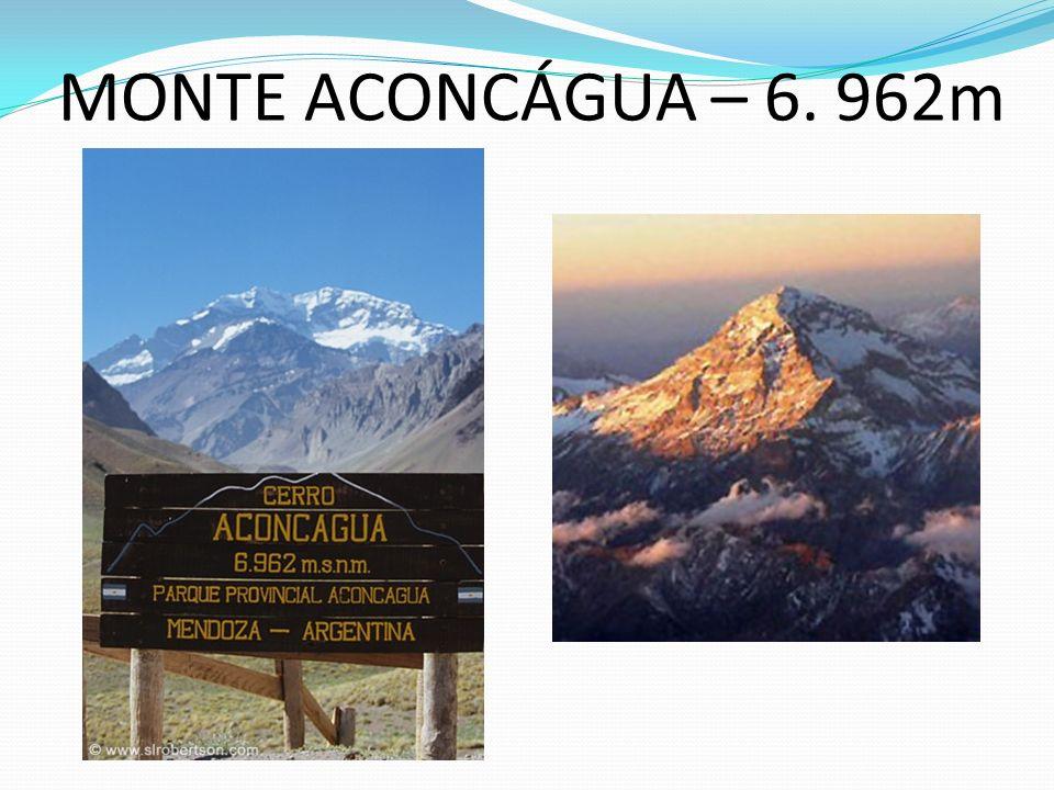 MONTE ACONCÁGUA – 6. 962m