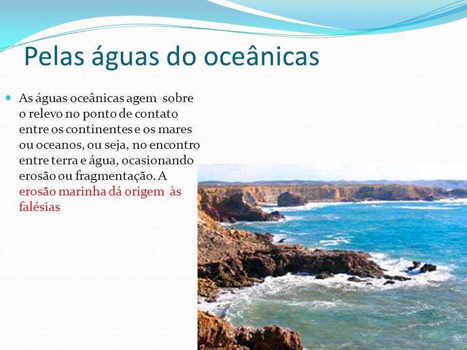 Pelas águas do oceânicas