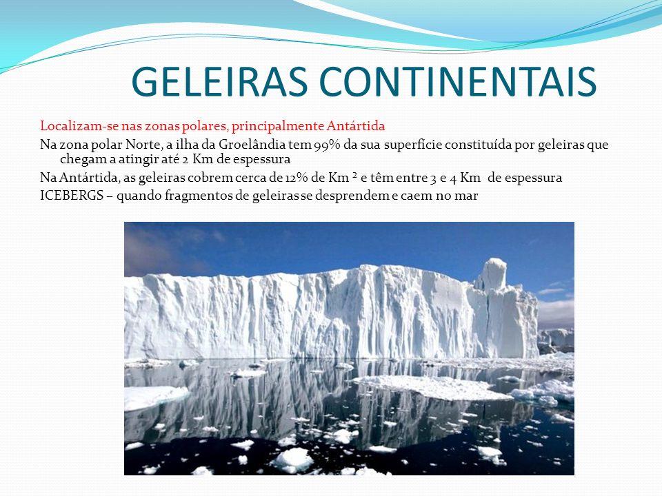 GELEIRAS CONTINENTAIS