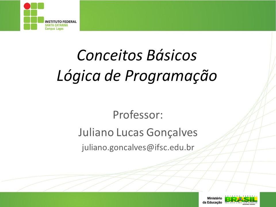 Conceitos Básicos Lógica de Programação