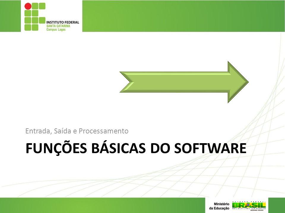 Funções Básicas do Software
