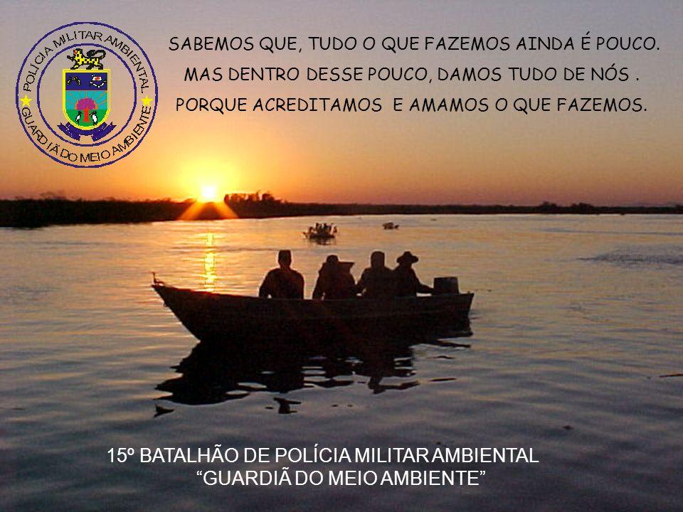 15º BATALHÃO DE POLÍCIA MILITAR AMBIENTAL GUARDIÃ DO MEIO AMBIENTE