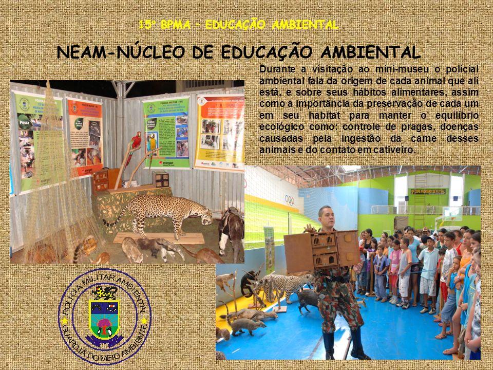 15° BPMA – EDUCAÇÃO AMBIENTAL NEAM-NÚCLEO DE EDUCAÇÃO AMBIENTAL