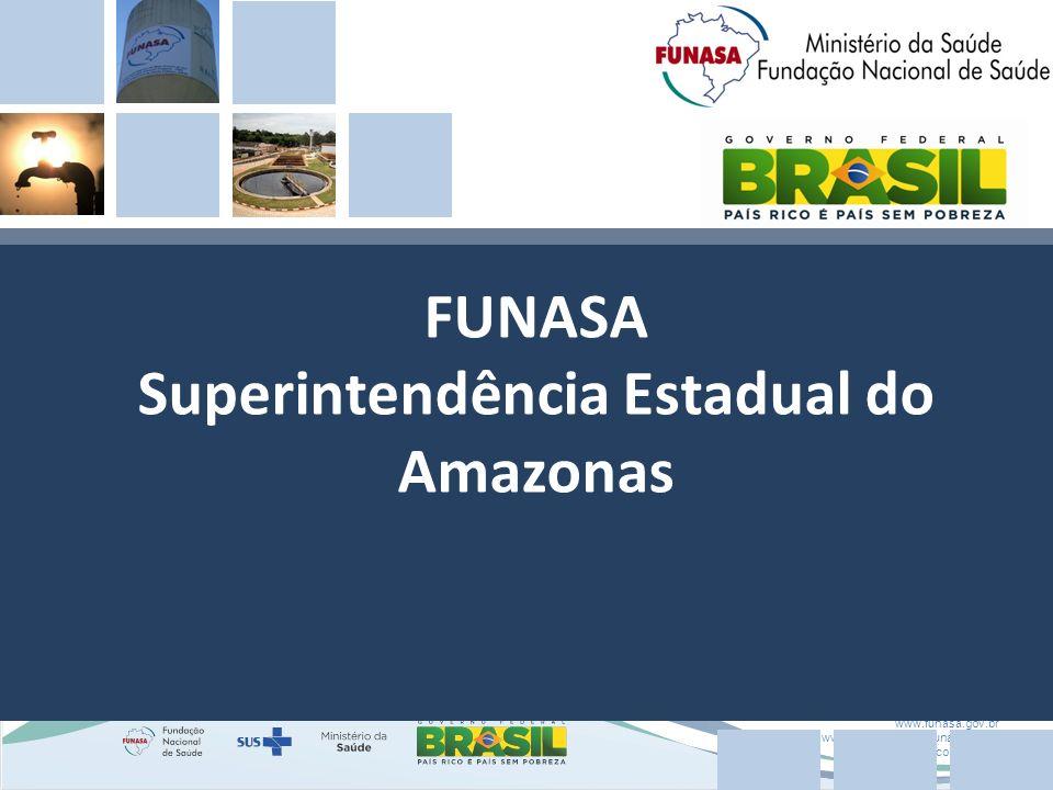 FUNASA Superintendência Estadual do Amazonas